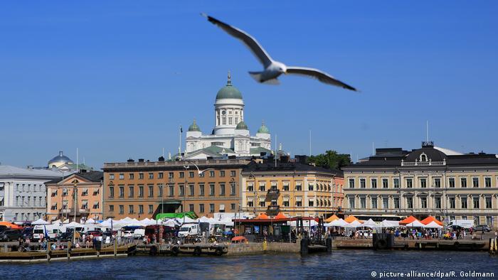 Finnland Südhafen von Helsinki (picture-alliance/dpa/R. Goldmann)