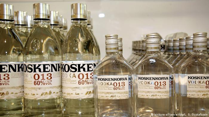 Finnland Wodka Koskenkorva (picture-alliance/dpa/L. S. Gustafsson)