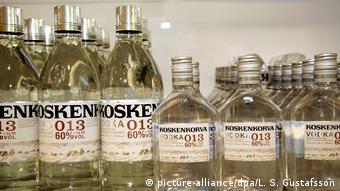 Finnland Wodka Koskenkorva