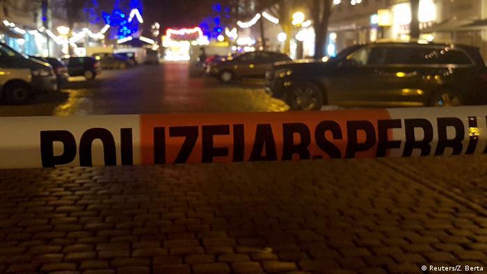 Deutschland Potsdam Evakuierung Weihnachtsmarkt (Reuters/Z. Berta)