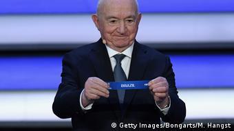 Russland Moskau WM-Auslosung Ziehung Brasilien