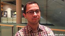 Jakub Gałęziowski - Historiker, Doktorand an der Uni Warschau und der Uni Augsburg, arbeitet am Thema: Kinder der Wehrmachtssoldaten als Besatzungsmacht in Polen Monika Sieradzka, DW