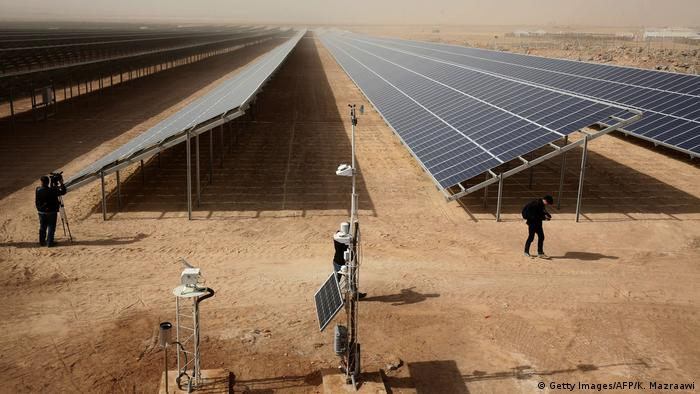 Jordanien - Solarenergie