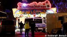 Deutschland Potsdam Evakuierung Weihnachtsmarkt