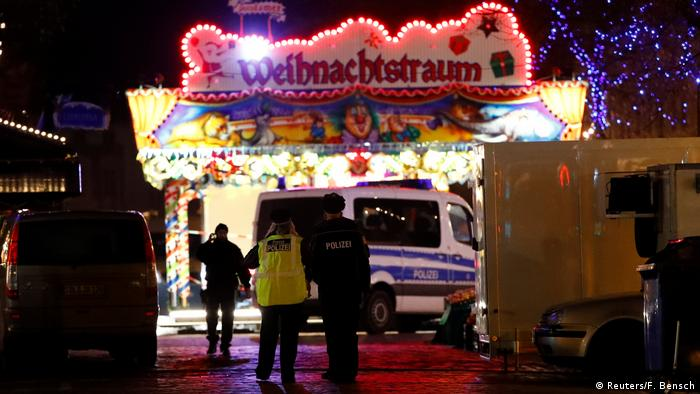 Police evacuated a Christmas market after discovering a suspicious package, which they later confirmed contained an explosive