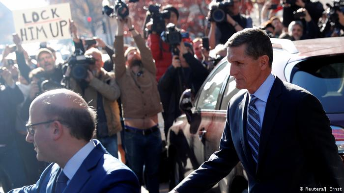 USA Washington - Michael Flynn verlässt das Gericht (Reuters/J. Ernst)