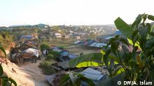 Rohingyas are living in a camp in Cox's Bazar in Bangladesh