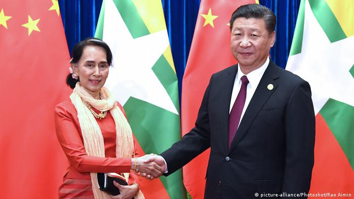 China Aung San Suu Kyi, Myanmar & Xi Jinping, Präsident