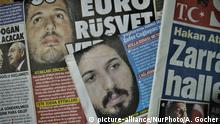 USA Prozess Reza Zarrab | Presse in der Türkei (picture-alliance/NurPhoto/A. Gocher)