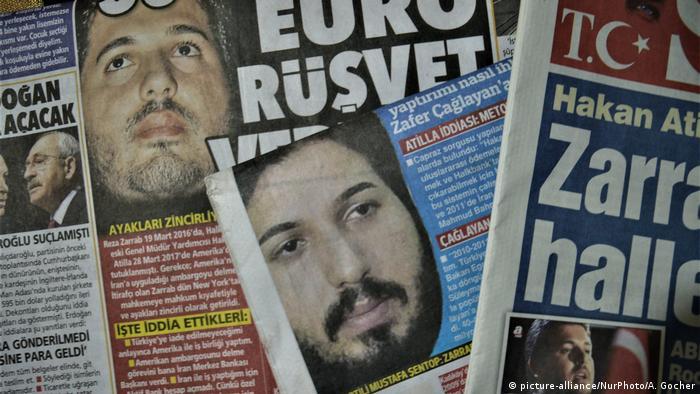 USA Prozess Reza Zarrab   Presse in der Türkei (picture-alliance/NurPhoto/A. Gocher)