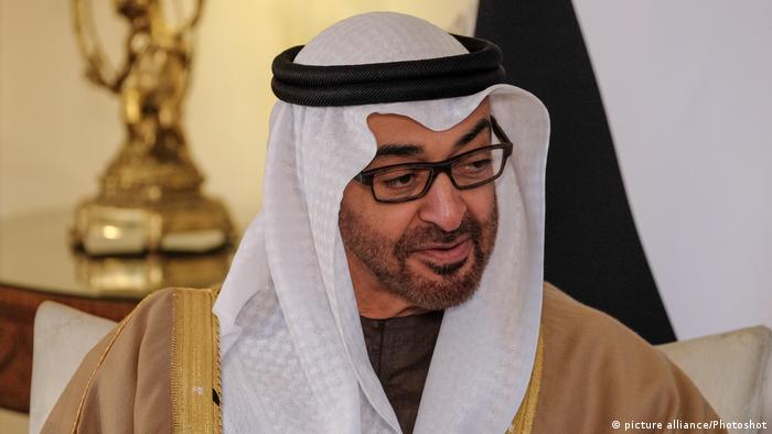 Abu Dhabis Kronprinz Sheikh Mohamed bin Zayed Al Nahyan
