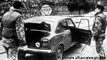Nordirland Grenze South Armagh 1976