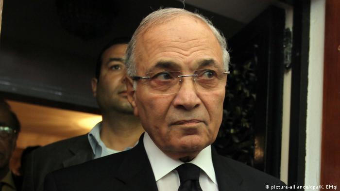 Ägypten Premierminister Ahmed Shafik Präsidenschaftskandidat im Jahr 2012