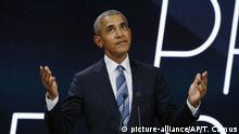 Paris Obama Rede