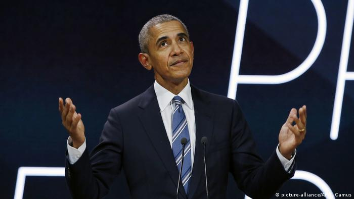 Obama: US opting out of Paris agreement 'a hard  position to defend'