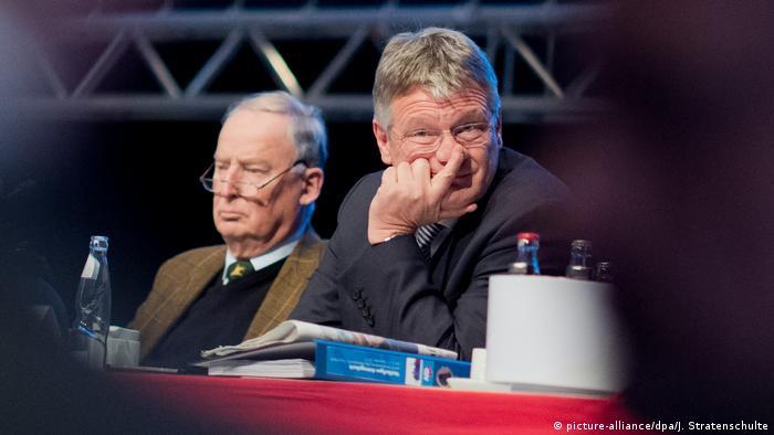 Hanover: AfD's Meuthen, Gauland