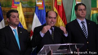 Santo Domingo Venezuela Dialog Julio Borges (Reuters/R. Rojas)