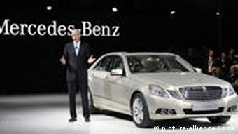 A new Mercedes-Benz E-350-CGI