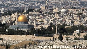 Israel | Palästina Jerusalem - Felsendom (picture alliance/dpa/R.Holschneider)