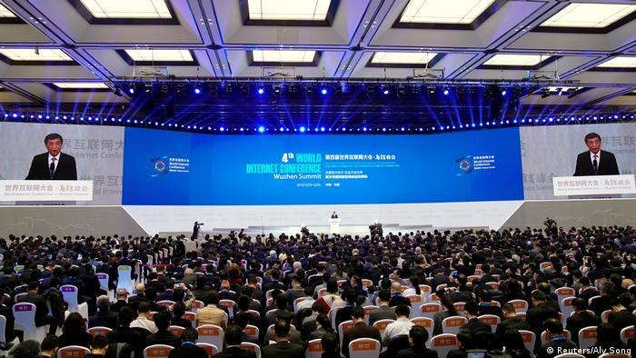 China World Internet Conference in Wuzhen (Reuters/Aly Song)