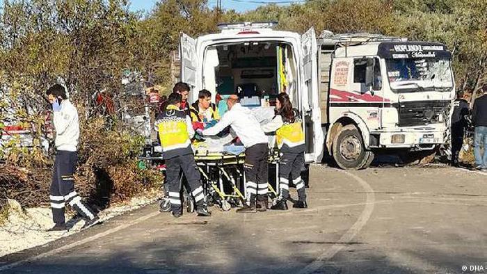 Türkei Verkehrsunfall in Hatay