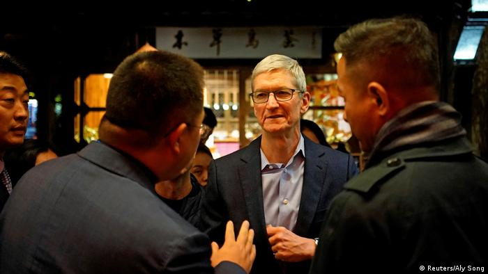 Apple's Tim Cook at the World Internet Conference in Wuzhen, China