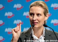 Сопредседатель фракции АдГ в бундестаге Алис Вайдель
