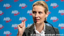 Hannover AfD Parteitag Weidel