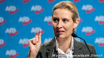 Alice Weidel (picture-alliance/dpa/H. Dittrich)