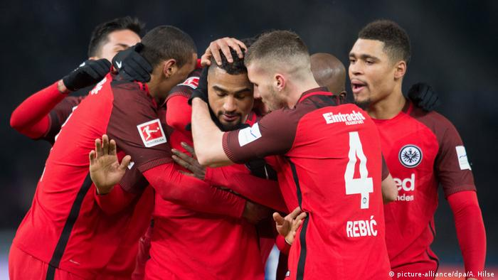 Bundesliga Hertha BSC - Eintracht Frankfurt Boateng Tor (picture-alliance/dpa/A. Hilse)