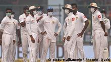 Cricket Testmatch Indien gegen Sri Lanka