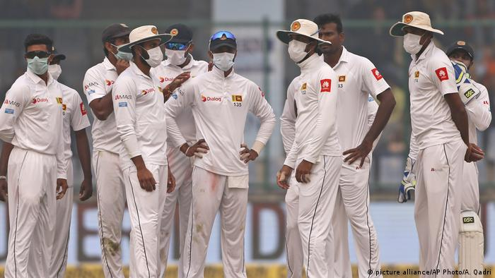Cricket Testmacht Indien gegen Sri Lanka (picture alliance/AP Photo/A. Qadri)