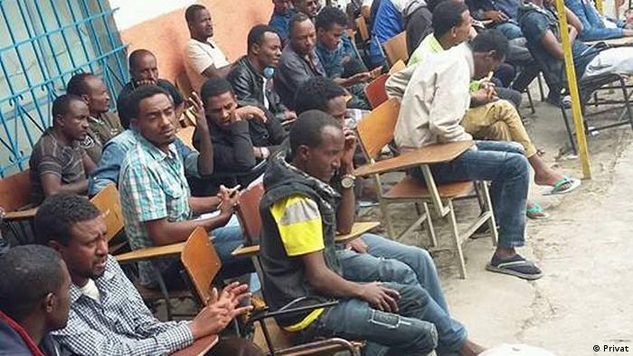 Äthiopien Flüchtlinge im Rift Valley College in Addis Ababa