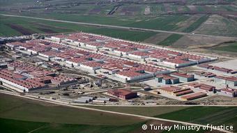 Aerial view of Silivri Prison compoun