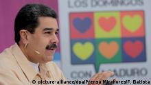 Venezuela Staatschef Maduro will neue Kryptowährung
