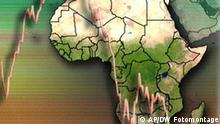 Symbolbild Finanzkrise in Afrika
