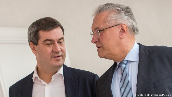 Markus Söder and Joachim Herrmann