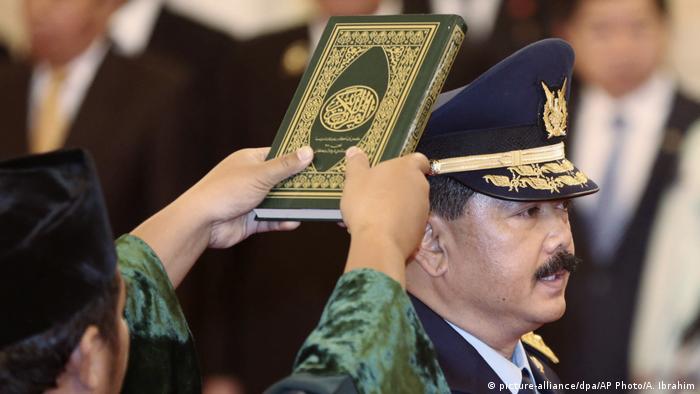 Hadi Tjahjanto, Kandidat für den Indonesischen Militärchef (picture-alliance/dpa/AP Photo/A. Ibrahim)