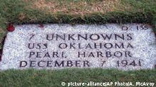 USA Friedhof USS Oklahoma (picture-alliance/AP Photo/A. McAvoy)