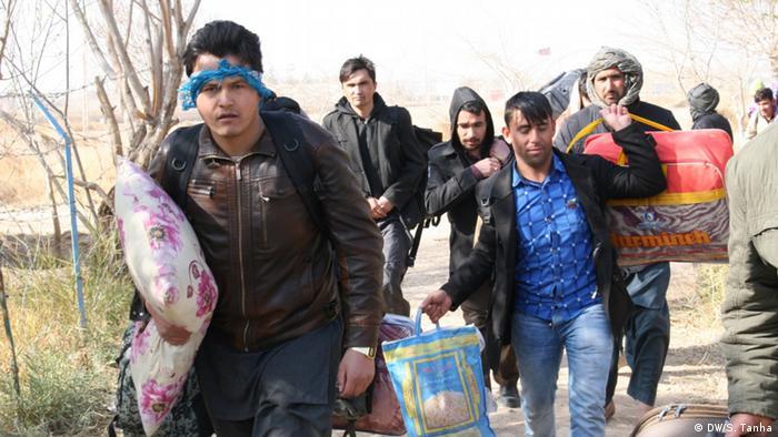 سازمان بینالمللی مهاجرت میگوید از این میان نزدیک به ۵۵۰۰ نفرشان که اکثرا مردان مجرد بودهاند، با اعمال فشار مقامات ایران اخراج شدهاند.