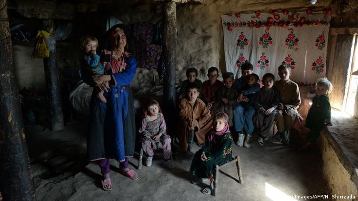Afghanistan Witwe Janat Bibi