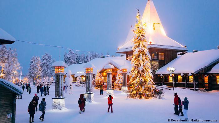 Finnland Weihnachtsbild von Rovaniemi (Rovaniemen Matkailuneuvonta)