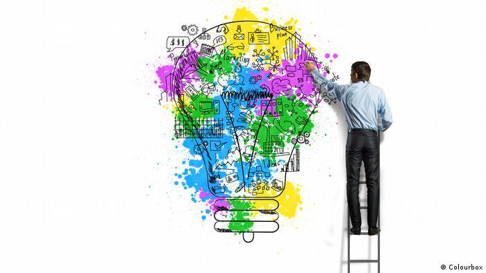 Os mistérios da criatividade no cérebro humano