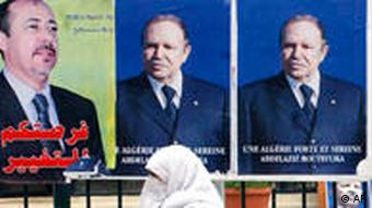 Wahlplakate (Foto: AP)