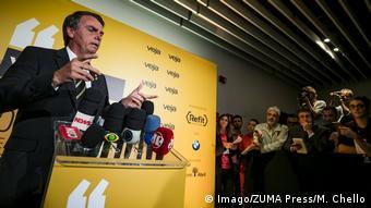 Brasilien Jair Bolsonaro (Imago/ZUMA Press/M. Chello)