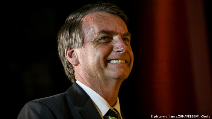 Brasilien Jair Bolsonaro (picture-alliance/ZUMAPRESS/M. Chello)