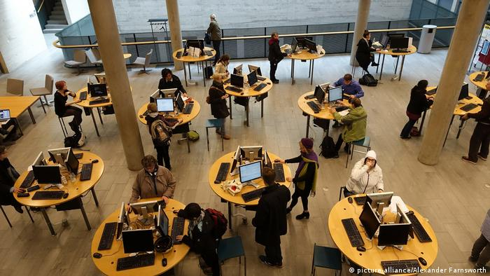 Finnland Helsinki Universitätsbibliothek
