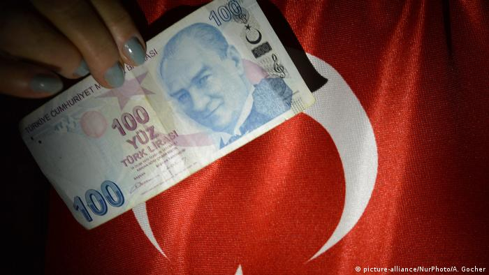 Türkische Lira - Inflation (picture-alliance/NurPhoto/A. Gocher)