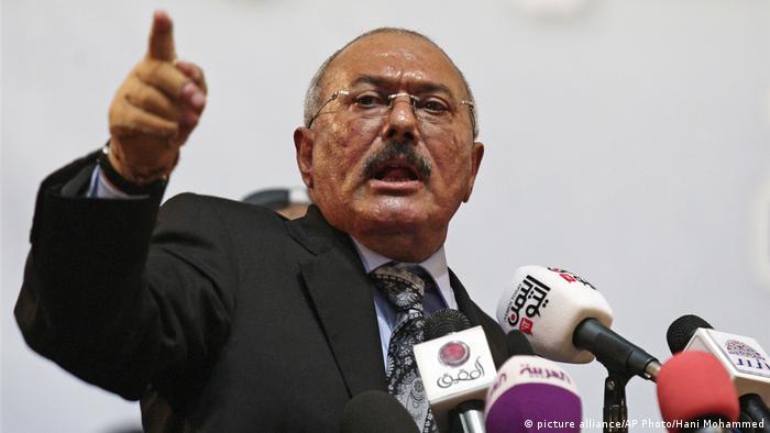 Jemen Ali Abdullah Saleh (picture alliance/AP Photo/Hani Mohammed)
