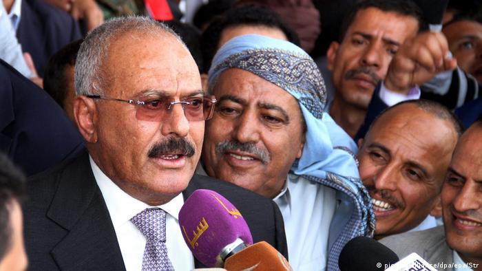 Jemens ehemaliger Präsident Ali Abdullah Saleh